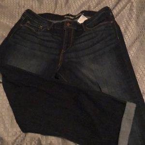 Levi Strauss modern slim cuffed jeans 18's